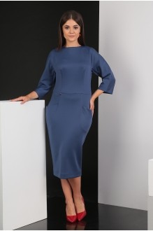 Мода-Юрс 2305 синий гладкий