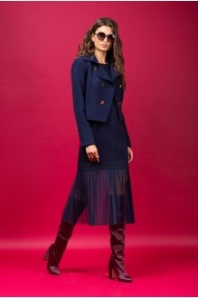 Юбочные костюмы /комплекты Vesnaletto 1881 т.синий фото 2