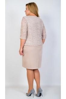 Вечерние платья TricoTex Style 5316 пудра фото 2