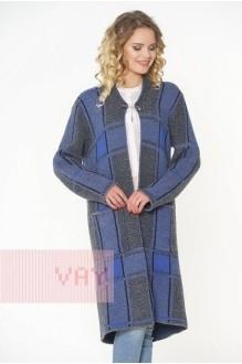 *Распродажа VAY 1521 серый/т.синий/ниагара