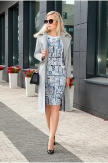 Azzara 3059  -1 пальто+платье