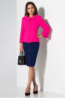Lissana 2885 розовый+темно-синий