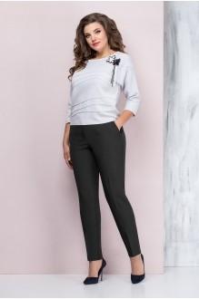 Elady 2942 -2 светло-серый/черный