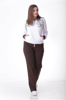 MALI 745 белый/коричневый