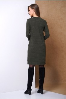 Повседневные платья Fantazia Mod 3301 хаки фото 2