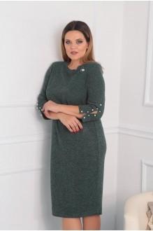 Повседневные платья VIOLA STYLE 0792 зеленый фото 1