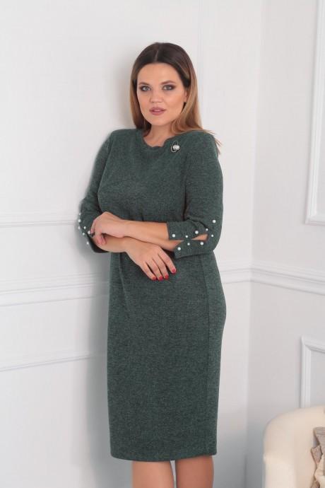 Повседневные платья VIOLA STYLE 0792 зеленый