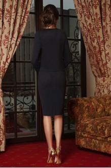 Юбочные костюмы /комплекты Lissana 3240/1 темно-синий+темно-серый фото 2