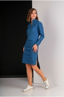 Повседневные платья Elletto 1611 джинс фото 2