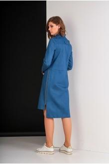 Повседневные платья Elletto 1611 джинс фото 4