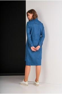 Повседневные платья Elletto 1611 джинс фото 5