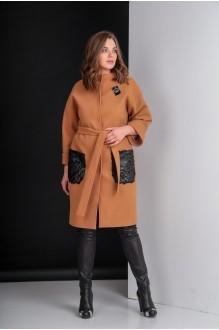 Пальто Elletto 3280 коричневый фото 1