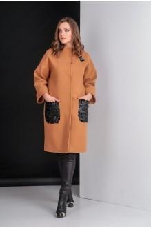 Пальто Elletto 3280 коричневый фото 2