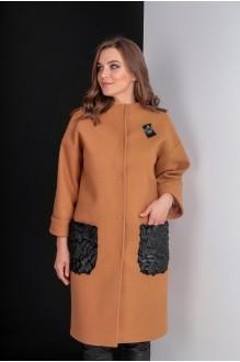 Пальто Elletto 3280 коричневый фото 3