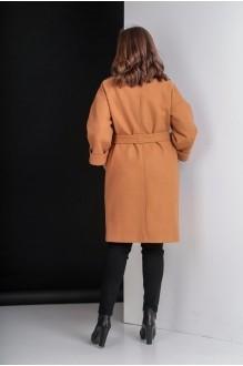 Пальто Elletto 3280 коричневый фото 4