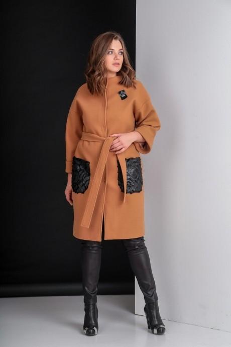 Пальто Elletto 3280 коричневый