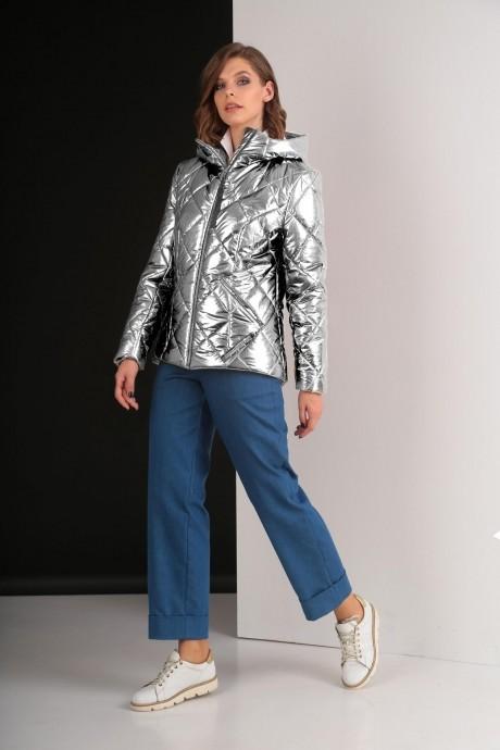 Куртки Elletto 3238 светлое серебро