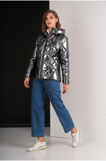 Куртки Elletto 3238 темное серебро фото 1