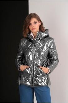 Куртки Elletto 3238 темное серебро фото 2