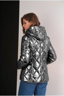 Куртки Elletto 3238 темное серебро фото 3