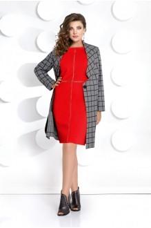 Мублиз 285 красный (жакет+платье)