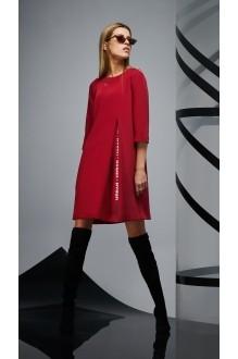 Повседневные платья DiLiaFashion 0170 -2 бордо фото 2