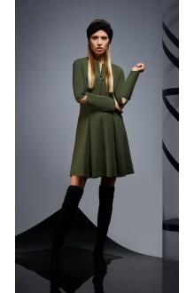 Повседневные платья DiLiaFashion 0171 -1 зелёный фото 1