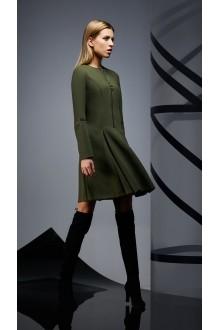 Повседневные платья DiLiaFashion 0171 -1 зелёный фото 5