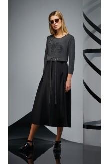 Повседневные платья DiLiaFashion 0173 -2 графит фото 2