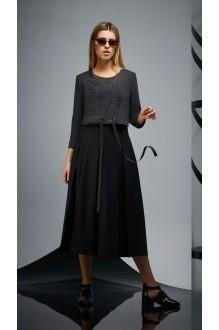 Повседневные платья DiLiaFashion 0173 -2 графит фото 3