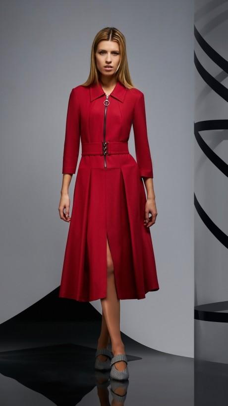 Повседневные платья DiLiaFashion 0174 -2 бордо