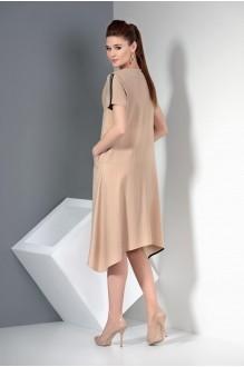 Повседневные платья SOVA 12003 бежевый фото 2