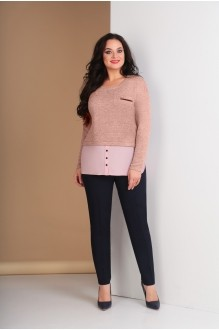 Ksenia Stylе 1581 розовый+темно-синий