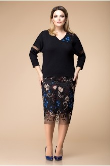 Romanovich Style 2-1537 чёрный с синим