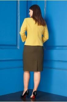 Юбочные костюмы /комплекты Anastasia 235 жёлтый фото 2
