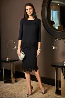 Юбочные костюмы /комплекты Lissana 3489 черный с серым оттенком фото 1