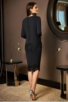 Юбочные костюмы /комплекты Lissana 3489 черный с серым оттенком фото 2