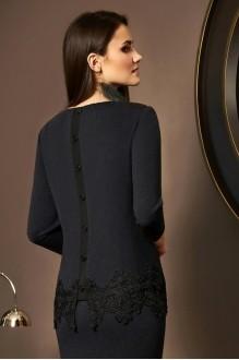 Юбочные костюмы /комплекты Lissana 3489 черный с серым оттенком фото 4