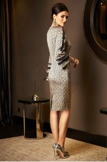 Вечерние платья Lissana 3536 золото+синий фото 2