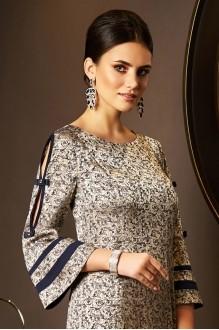 Вечерние платья Lissana 3536 золото+синий фото 3