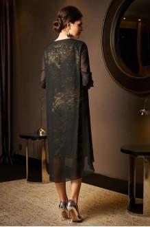 Вечерние платья Lissana 2975 черный+зеленый чай фото 2