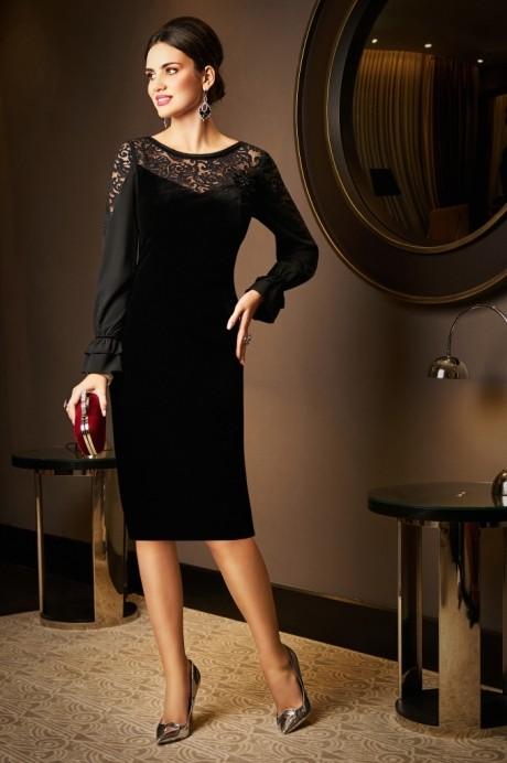 Вечерние платья Lissana 3522 черный