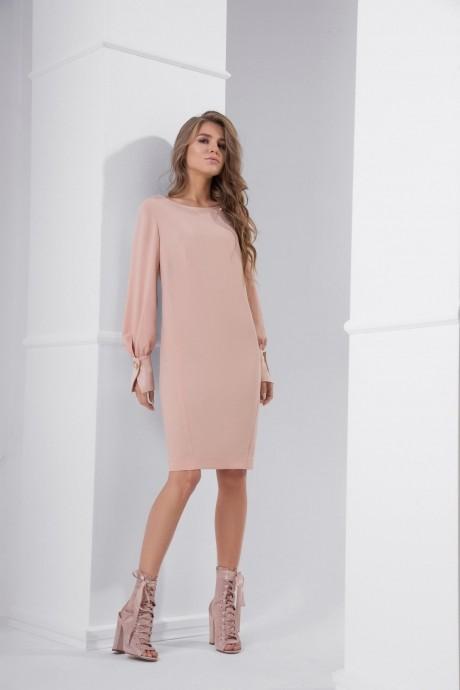 Вечерние платья Lokka 429 персик