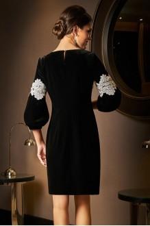 Вечерние платья Lissana 3531 черный+белое кружево фото 3