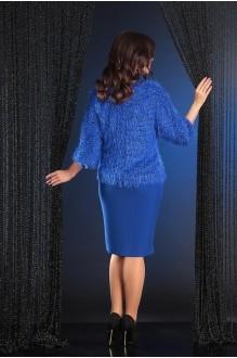 Юбочные костюмы /комплекты Мода-Юрс 2371 василёк фото 5