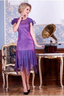 Euro-moda 192 розово-голубо-фиолетовый