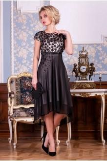 Euro-moda 193 черный+молочно-золотистый