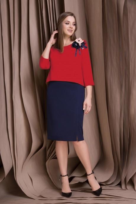 Повседневные платья Lokka 409 красный