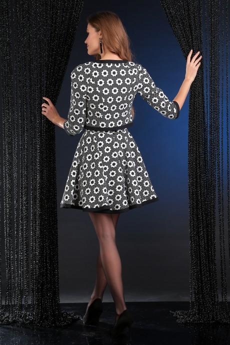 Мода-Юрс 2175 -1 чёрно-белый