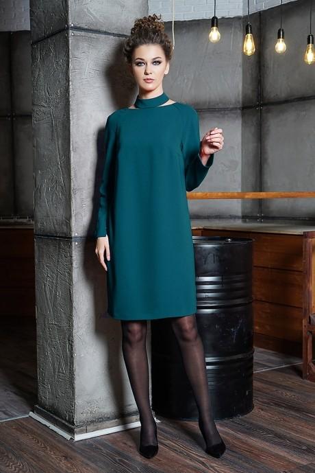 Повседневные платья Fantazia Mod 3319 морская волна